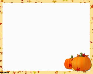 Thanksgiving Holiday Powerpoint