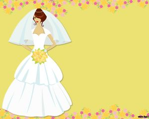 bridal powerpoint ppt template