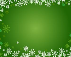 Snowflakes PPT Template