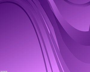Plantilla con Lineas Púrpuras PPT PPT Template
