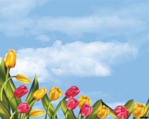 Plantilla de flores pintadas a mano | descargar vectores gratis.
