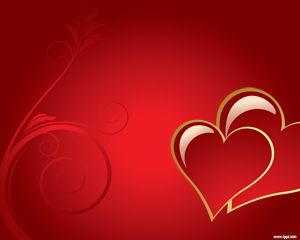 romantic love powerpoint template ppt template