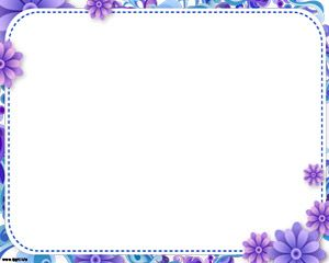Marco Floral Powerpoint PPT Template