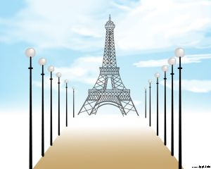 Paris - Francia Powerpoint Template