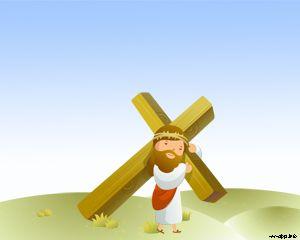 Crucificción de Jesús PPT PPT Template