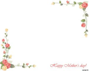 Mother's Day PowerPoint Background is categorized under Mother's day ...