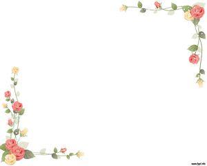 Plantilla PowerPoint Rosas PPT Template