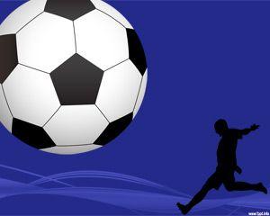 Plantilla PowerPoint de Fútbol PPT Template