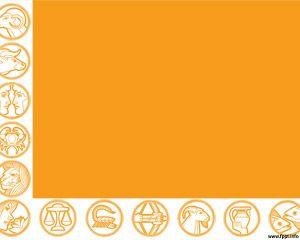 Plantilla PowerPoint de Horoscopo PPT Template