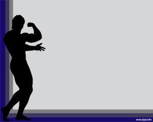 Plantilla PowerPoint de Musculación PPT Template