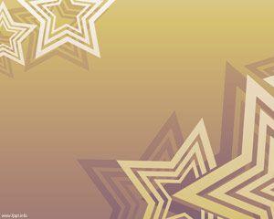 Fondo con Estrellas para PowerPoint PPT Template
