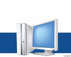 Computadora Plantilla PowerPoint PPT Template
