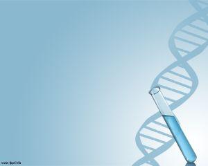 Plantilla PowerPoint de ADN Gratis