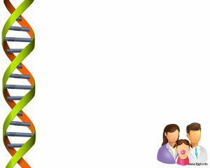 Prueba de ADN PPT Template