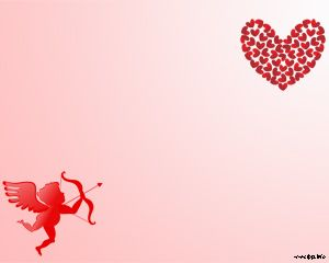 Fondo de San Valentín para Power Point 2012