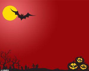 halloween background template