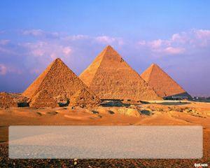 Pirámides de Egipto Plantilla PowerPoint