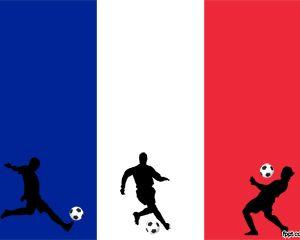 Fútbol Francés Plantilla PowerPoint