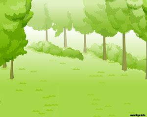 Bosque Verde Plantilla PowerPoint PPT Template