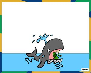 Jonah And The Whale PPT PowerPoint Template