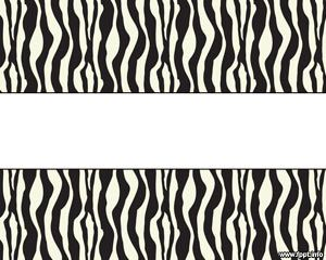 Plantilla PowerPoint de Cebras PPT Template