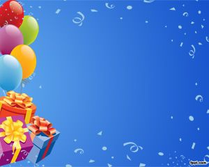 Cumpleaños Plantilla PowerPoint