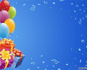 Cumpleaños Plantilla PowerPoint PPT Template