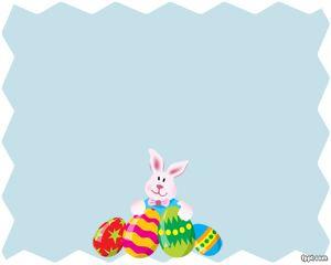 Plantilla PowerPoint Conejo de Pascuas