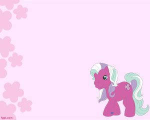 Mi pequeño Pony Plantilla PowerPoint