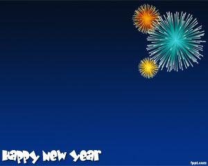 Año Nuevo Plantilla PowerPoint