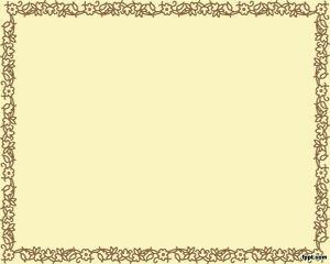 marco powerpoint marrón