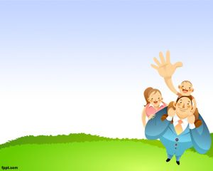 Día del Padre Plantilla PowerPoint PPT Template