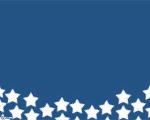 Plantilla PowerPoint con Estrellas PPT Template