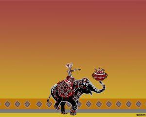 Elefante Hindú PPT PPT Template