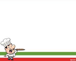 Chef Italiano Plantilla PowerPoint PPT Template