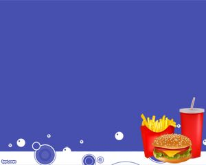 Comida Chatarra PowerPoint PPT Template