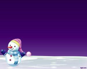 Muñeco de Nieve PPT
