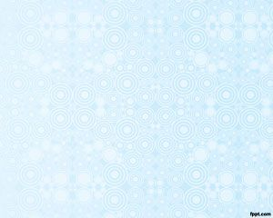Circles Background for PowerPoint – Sky blue PPT Template