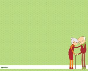 Ancianos Plantilla PowerPoint PPT Template