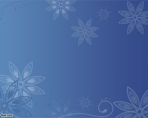 Flower Wallpaper for PowerPoint PPT Template