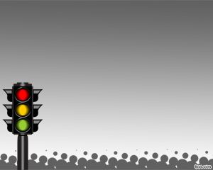 traffic light system powerpoint template free powerpoint