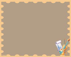 Plantilla PowerPoint de Violín