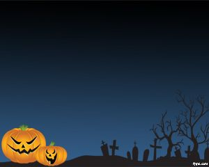 Scary Halloween Pictures for PowerPoint PPT Template