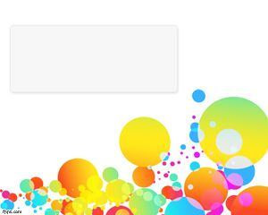Color Bubbles PowerPoint Template PPT Template