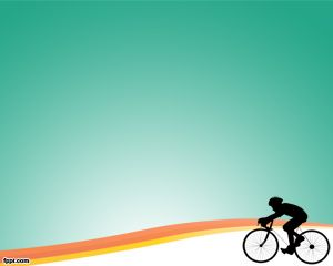 Ciclismo Plantilla Powerpoint PPT Template