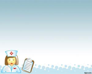 Practicante de Enfermería Plantilla PowerPoint PPT Template