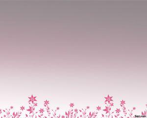 Plantilla PowerPoint Floreciendo Flores PPT Template