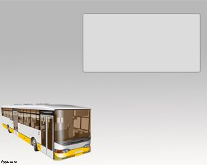 Ómnibus Plantilla PowerPoint PPT Template