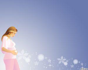 Plantilla PowerPoint Maternidad PPT Template
