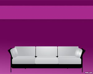 Sofa PowerPoint Template PPT Template